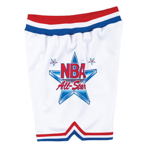 1991 NBA All Star East Mitchell & Ness Men's Authentic Throwback White Shorts