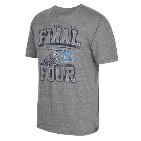 UNC Tar Heels NCAA Adidas 2016 NCAA Final Four Splash Grey Tri-Blend T-Shirt