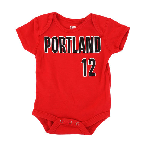 LaMarcus Aldridge NBA Portland Trail Blazers Newborn Infant Red Jersey Creeper