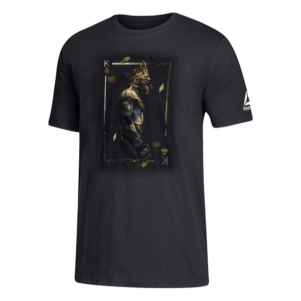 Conor McGregor Reebok UFC Men's Black BossLogic T-Shirt