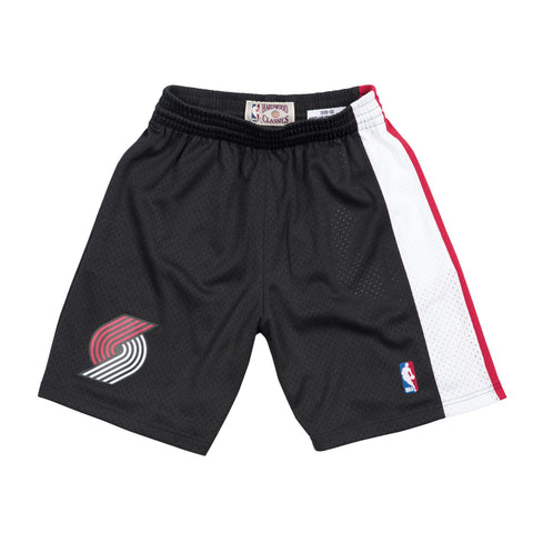 Portland Trail Blazers 1999-00 Road Mitchell & Ness Swingman Throwback Shorts