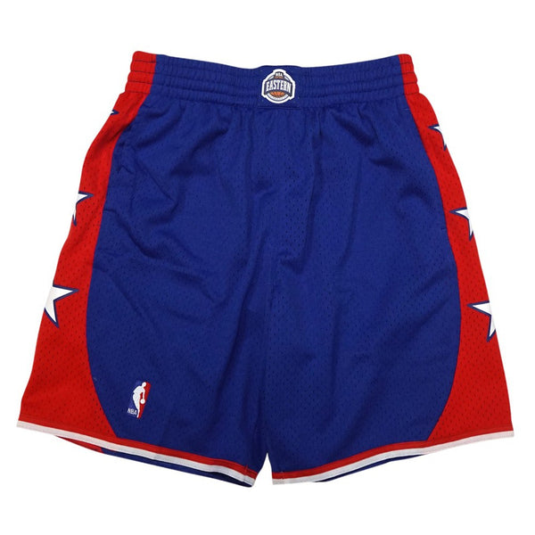 2004 NBA All Star East Mitchell & Ness Throwback Swingman Blue Shorts Men's