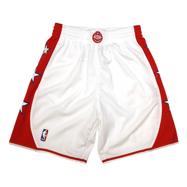 2004 NBA All Star West Mitchell & Ness Throwback Swingman White Shorts Men's