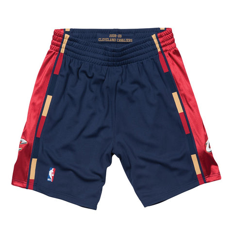 Cleveland Cavaliers 2008-09 Mitchell & Ness Authentic Alternate HWC Shorts Men's