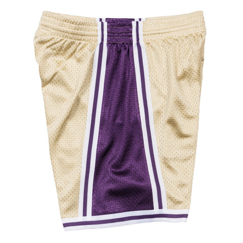 Los Angeles Lakers NBA Mitchell & Ness Men's Gold Men Shorts