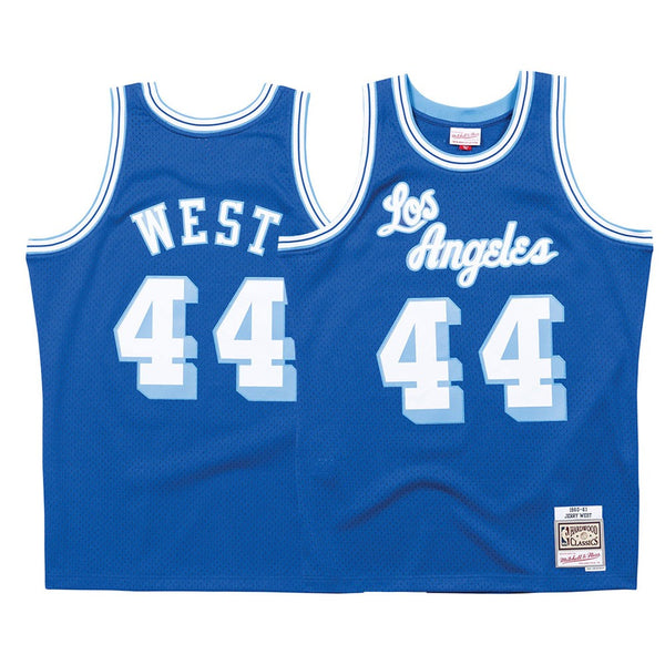 d95a8fccac9 Jerry West Los Angeles Lakers Mitchell   Ness Men s 1960-61 Road Swingman  Jersey