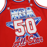 David Robinson 1991 NBA All Star East Mitchell & Ness Swingman Red Jersey Men's