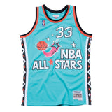 Patrick Ewing NBA 1996 All Star East Men's Mitchell & Ness Teal Green Men Jersey
