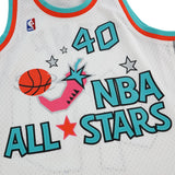 Shawn Kemp 1996 NBA All Star West Mitchell & Ness Swingman White Jersey Men's