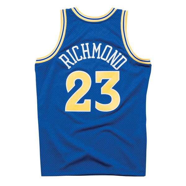 Mitch Richmond 1990-91 Golden State Warriors Mitchell & Ness Swingman Jersey