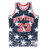 Patrick Ewing New York Knicks Mitchell & Ness Men's 4th of July Swingman Jersey