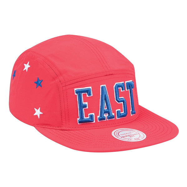 NBA All Star East Retro Stars Camper Mitchell & Ness 5 Panel Snapback Cap Hat