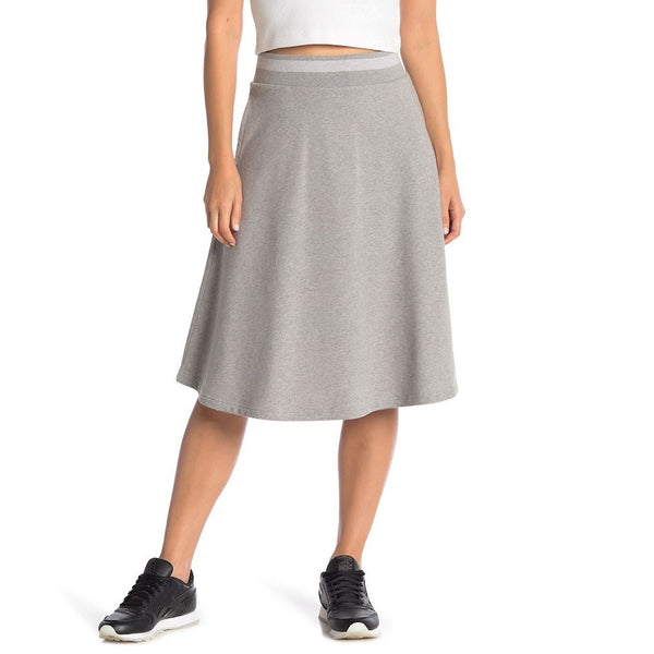 Reebok Women's Varsity Baseball Skirt (Medium Grey Heather) BK2428
