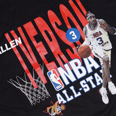 Allen Iverson Philadelphia 76ers NBA Men's Mitchell & Ness 2003 All Star T-Shirt