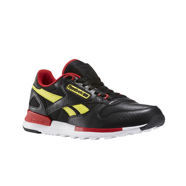 Reebok Classic Leather 2.0 (BLACK/HYPERGREEN/SCARLET/) Men's Shoes BS5102