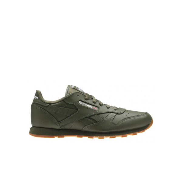 Reebok Classic Leather Gum (HUNTER GREEN-GUM)  Shoes BS5452