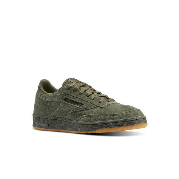 Reebok Club C 85 Tg (HUNTER GREEN/POPLAR GREEN) Grade School Kids Shoes BS5958