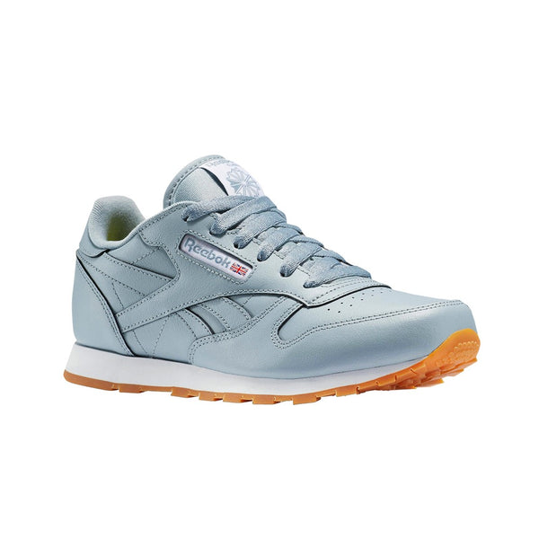 Reebok Classic Leather Gum (METEOR GREY/WHITE-GUM)  Shoes BS8946