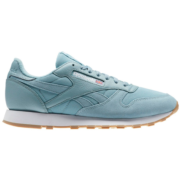Reebok Classic Leather Mu (WHISPER TEAL/WHITE) Men's Shoes BS9724