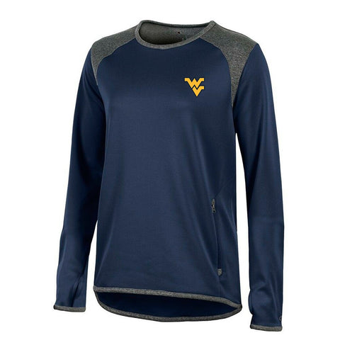 West Virginia Mountaineers NCAA Champion Women's Marine Navy Athletic Tech Crew