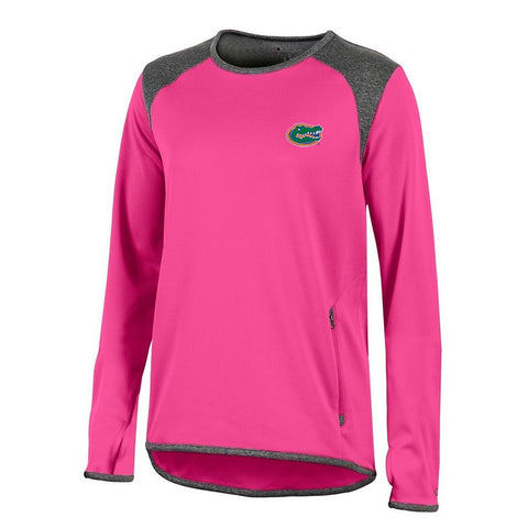 Florida Gators NCAA Champion Women's (Pink) Athletic Tech Perf. Crew