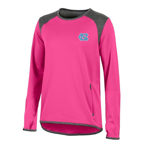 UNC Tar Heels NCAA Champion Women's (Pink) Athletic Tech Perf. Crew