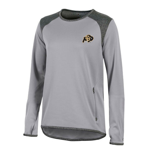 Colorado Buffaloes NCAA Champion Women's (Grey) Athletic Tech Perf. Crew