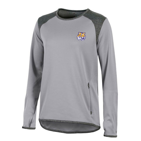 LSU Tigers NCAA Champion Women's (Grey) Athletic Tech Perf. Crew