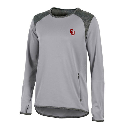 Oklahoma Sooners NCAA Champion Women's (Grey) Athletic Tech Perf. Crew