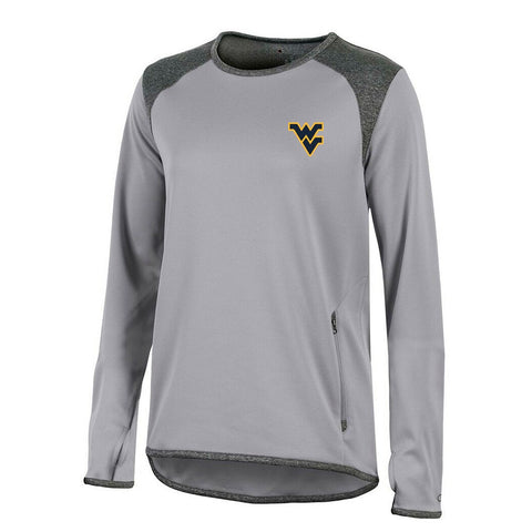 West Virginia Mountaineers NCAA Champion Women's (Grey) Athletic Tech Perf. Crew