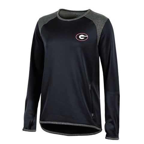 Georgia Bulldogs NCAA Champion Women's (Black) Athletic Tech Performance Crew