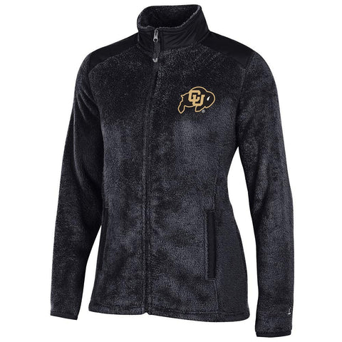 Colorado Buffaloes NCAA Full Zip Women's Team Logo Flurry Jacket by Champion