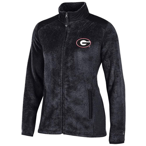 Georgia Bulldogs NCAA Full Zip Women's Team Logo Flurry Jacket by Champion