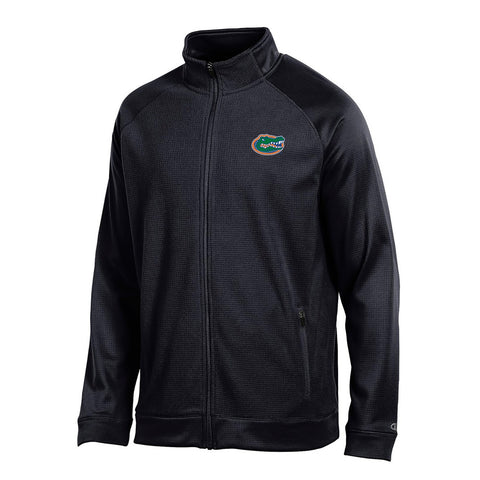 "Florida Gators NCAA Champion Men's ""Achievement"" Black Perf. Full Zip Jacket"