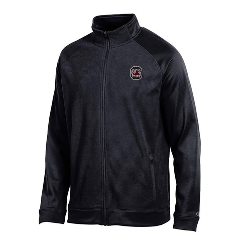 "South Carolina Gamecocks NCAA Champion Men's ""Achievement"" Black Full Zip Jacket"