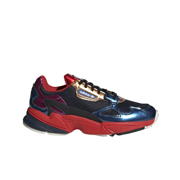 Adidas Falcon (Collegiate Navy/Collegiate Navy/Red) Women's Shoes CG6632
