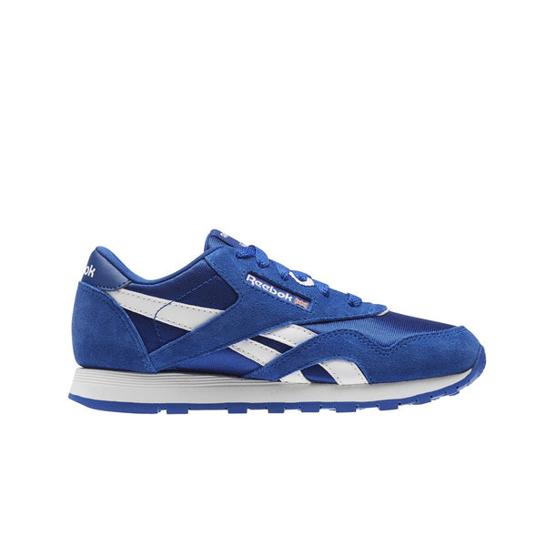 Reebok Classic Leather Nylon (COLLEGIATE ROYAL) Pre School Kids Shoes CN1268