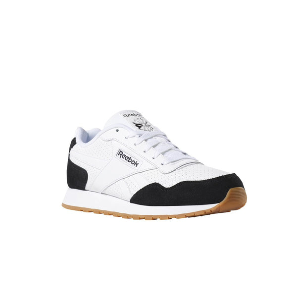 Reebok Classics Classic Leather Harman Run (US-Black/White/White/Gum) Men's Shoes CN1298