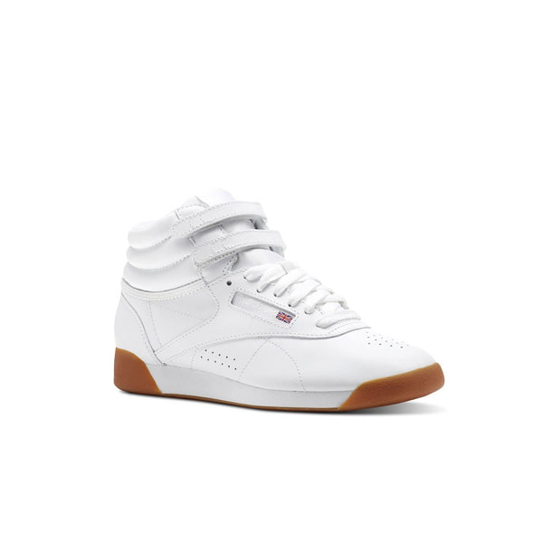 Reebok Classics Freestyle Hi (White/Gum) Women's Shoes CN2392