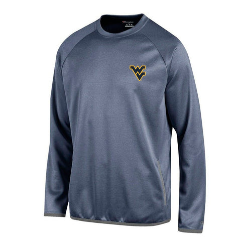 West Virginia Mountaineers NCAA Champion Men's Convergence Navy Pullover Crew