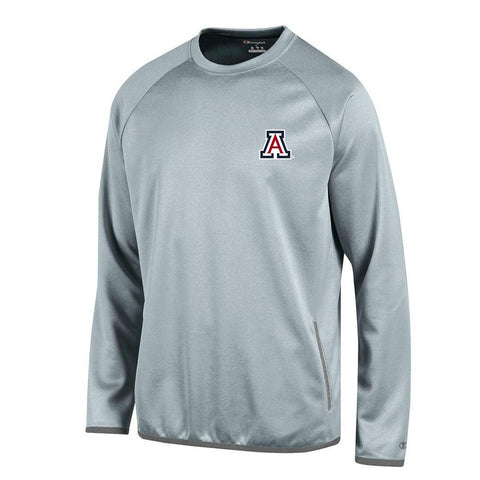 Arizona Wildcats NCAA Champion Men's Convergence Grey Pullover Crew