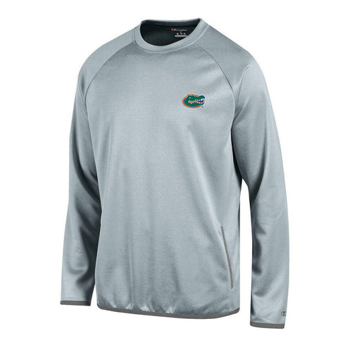 Florida Gators NCAA Champion Men's Convergence Grey Pullover Crew