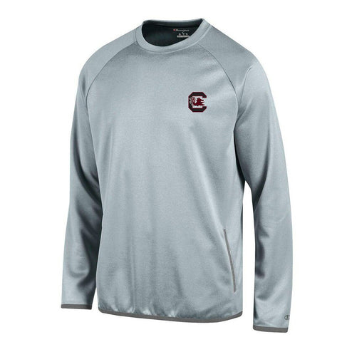 South Carolina Gamecocks NCAA Champion Men's Convergence Grey Pullover Crew