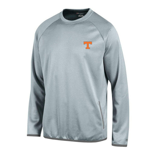 Tennessee Volunteers NCAA Champion Men's Convergence Grey Pullover Crew