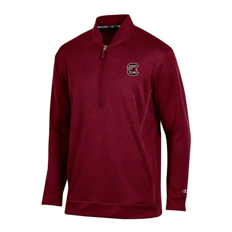 South Carolina Gamecocks Champion Men's Garnet Cool Down Coaches Collar Jacket