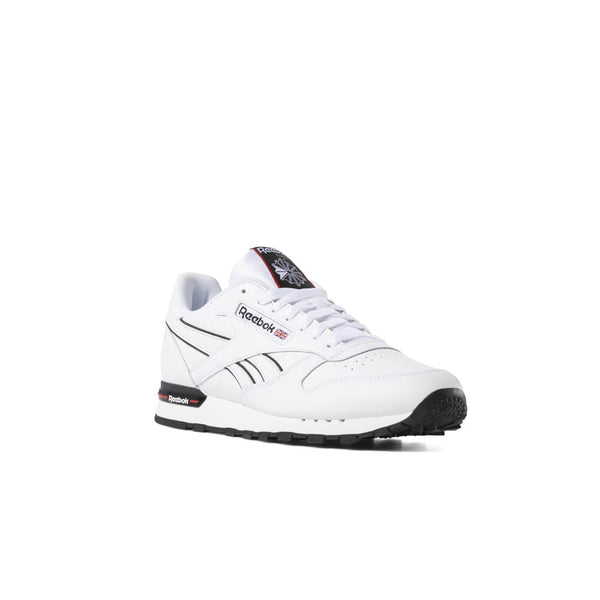 Reebok Classic Leather MU (White/Primal Red/Black) Men's Shoes DV3929