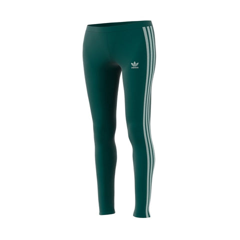 Adidas Originals 3-Stripes Leggings (Noble Green) Women's Pants ED7594