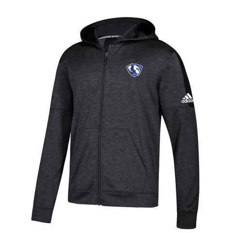 Eastern Illinois Panthers NCAA Adidas Men's Black Climawarm Full Zip Hoodie