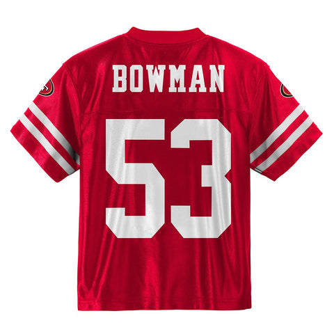 NaVorro Bowman NFL San Francisco 49ers Replica Jersey Infant Toddler (12M-4T)