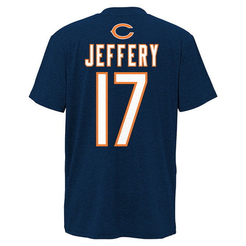 Alshon Jeffery NFL Chicago Bears Player Name & Number Home Jersey T-Shirt Youth